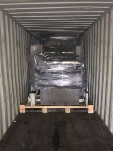 Emcon container loading with specialist packaging