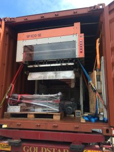 Emcon specialist loading service with bespoke machinery packaging